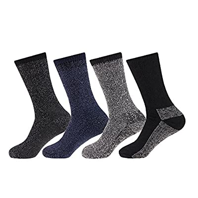 NEW 4 pairs Mens Arctic Comfort ® Thick Thermal Wool Socks High Tog Rating