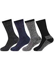 NEW 4 pairs Mens Arctic Comfort ® Thick Thermal Wool Socks High Tog Rating