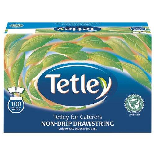 ( 12 Pack ) Tetley Non-Drip Drawstring 100 Teabags 250g