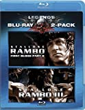 Rambo: Two Pack (First Blood II / Rambo III) [Blu-ray] by Sylvester Stallone