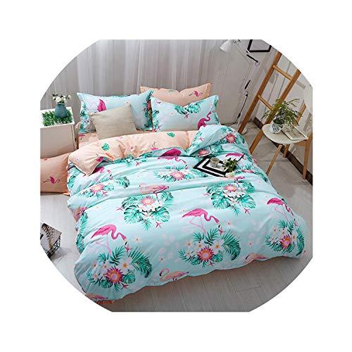Meet at Corner-bedding sets Parure de lit pour Enfant avec Housse de Couette et Housse de Couette pour lit Simple Double Batman Gris 25 Style 21 Twin XL 4 pièces