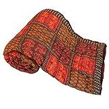 Ethnic Jaipuri Print Cotton Double Bed R...