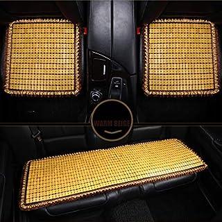 zyy Autositzkissen, Summer Bamboo Mahjong Piece Mat - dreiteiliges Autositzkissen - einteiliges kleines Quadrat (Color : B)