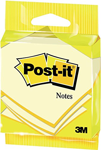 Post-It 6820 - Notas adhesivas, 76 x 76 mm, color amarillo