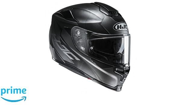 Size XL Black//White HJC RPHA 70 GADIVO MC5SF Motorcycle Helmet