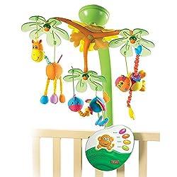 Tiny Love Classic Mobile Sweet Island Dreams Babys erstes Mobile (0M+), 4 Melodien, entwickelt sich zur Musik-Box und/oder Nachtlicht, mehrfarbig
