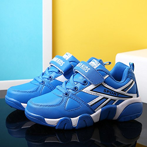 Boy's Girl's Sneakers Athletic Easy Strap Laufschuhe (Kleinkind / Little Kid / Big Kid) Blau(Blue)