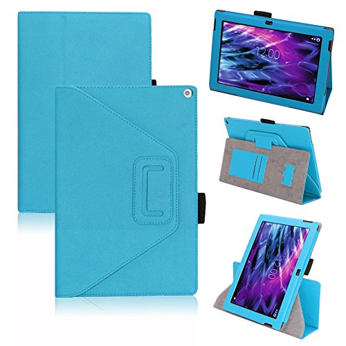Tasche Medion Lifetab S10366 S10365 S10346 Hülle Schutzhülle Cover Tablet Case, Farben:Türkis