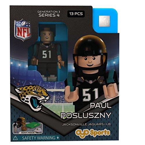 Preisvergleich Produktbild Jacksonville Jaguars NFL OYO Sports Mini Figure: Paul Posluszny