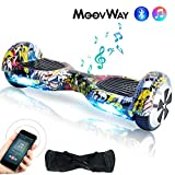 Wingoo Hoverboard 6.5 Pouces Overboard Bluetooth Auto-équilibrage Scooter, 2*250W Smart Gyropode, Enfant Adulte Self Balance Board