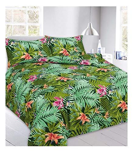 Islander Fashions Luxus Cannabis Blatt Abby Gedruckt Weichen Bettdecke Bettbezug Bettw�Sche Set Alle Gr��e Abby Green Super King Size