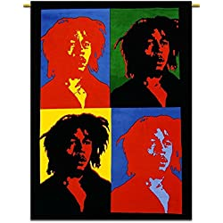 Bob Marley Tapiz indio hippie pared bohemio tamaño póster 42x 30pulgadas