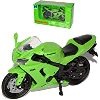 New Ray Kawasaki Zx 6rr ZX 6 RR Ninja 2005 GrUn StrassenveRSion 1 18