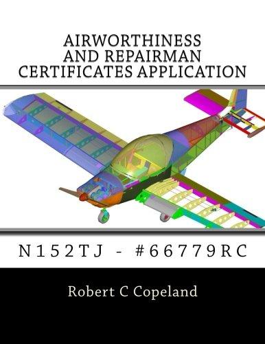 Airworthiness and Repairman Certificates Application: N152tj - #66779rc por Robert C. Copeland