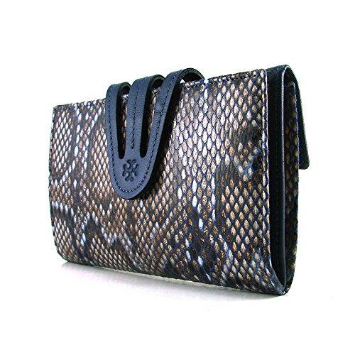 Cartera para mujer, hecho a mano en España, marca casanova, perfecto para regalo, Ref. 22416 Azul