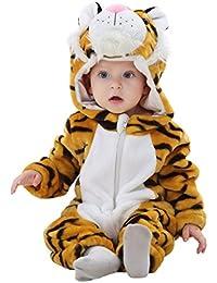 Katara 1778 - Onesie Bébé Kigurumi Pyjama à Capuche Hiver Costume pour Enfants Unisexe - Differentes Tailles et Modèles