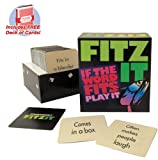 Fitz It board game with free deck of sta...