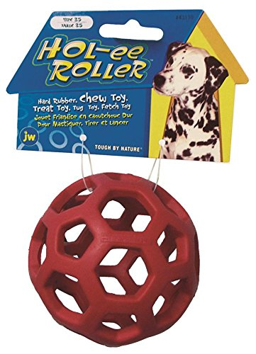 JW Pet Tough by Nature Hol-ee Roller, Größe 8, gemischt