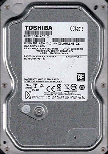 Toshiba DT01ACA100Interne ABA AB00/7L0China 1TB DESKTOP Festplatte