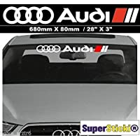 Suchergebnis Auf Amazonde Für Aufkleber Frontscheibe Audi