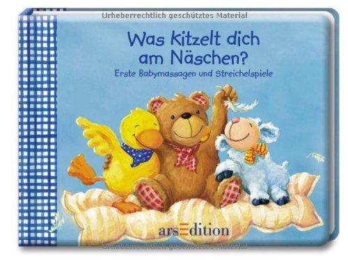 Buchseite und Rezensionen zu 'Was kitzelt dich am Näschen? Erste Babymassagen und Streichelspiele (Spielen & wachsen)' von Birgit Hörner