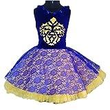 My Lil Princess Purple Beige Fairy Dress