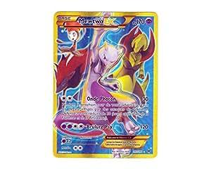 Carte Pokémon 163/162 MEWTWO EX SECRETE FULL ART 170 PV - Série XY IMPULSON TURBO XY8 - NEUVE FR RARE