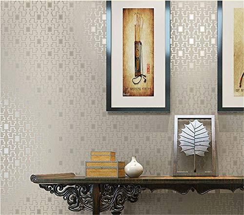 ZCYY Chinesische Retro-Karotapete 4D-Vliestapete Schlafzimmertapete Grüne Tapete Dekorative Tapete Einfache Tapete (E)
