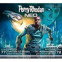 Perry Rhodan NEO MP3 Doppel-CD Folgen 77 + 78: Eine Falle für Rhodan; Der Mutantenjäger