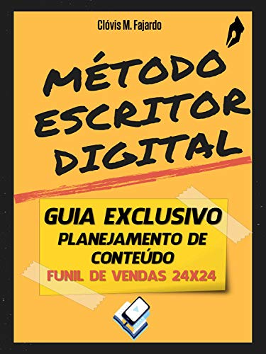 Guia exclusivo planejamento de conteúdo: funil de vendas 24x24 - Método Escritor Digital (Portuguese Edition)