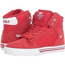 buy popular 59406 2aa40 scarpe rosse uomo - Supra - Amazon.it