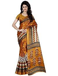 Trendz Style Taffeta Silk Jigjag Print Saree(TZ_1030_P)