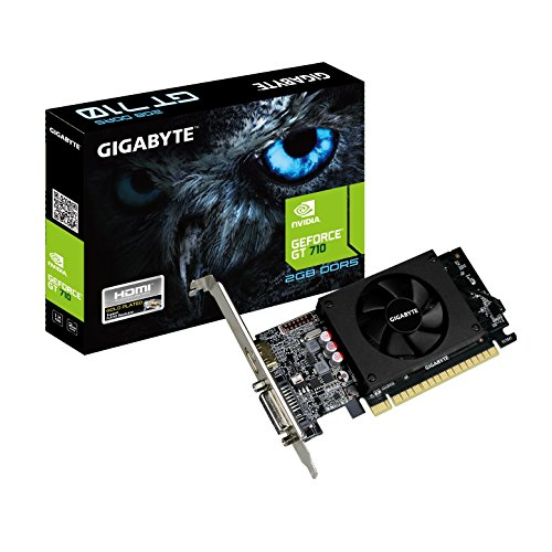 Gigabyte GeForce GT 710 2GB Graphic Cards Support PCI Express 2.0 X8...