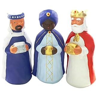 Jullar Cada 9273,50 Portal Tres Reyes Magos de Las Figuras, 29 cm