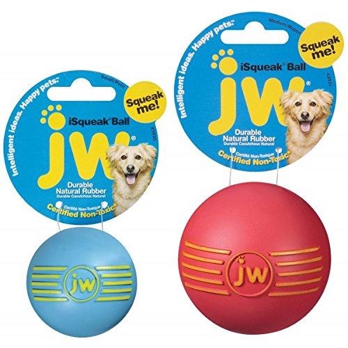 JW Pet iSqueak Hundeball, Größe M -