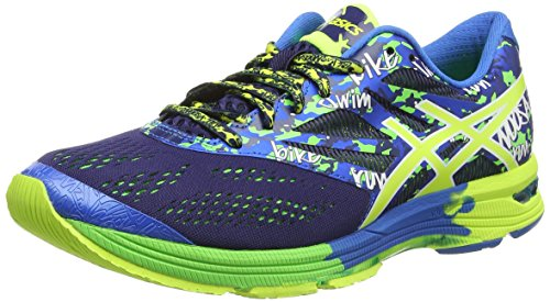 asics-gel-noosa-tri-10-mens-training-running-shoes-midnight-flash-yellow-flash-green-9-uk-44-eu