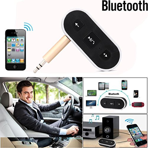 Byste Wireless Bluetooth Receiver 3.5mm Jack Bluetooth Audio Sound Music Adapter Car Aux Cable For Portable Speaker Headphone