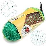 Vogelschutznetz für Garten, Garten etc. 2m x 10m grün