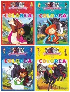 Horseland colorea (4 títulos) Cover Image