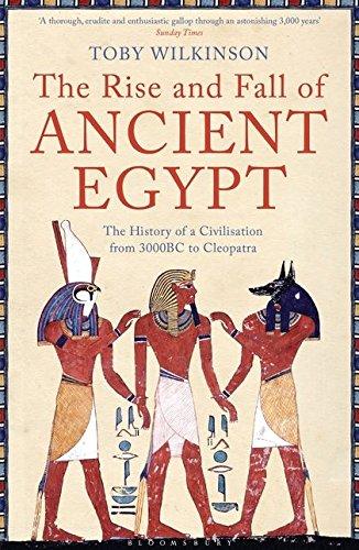 Buchseite und Rezensionen zu 'The Rise and Fall of Ancient Egypt' von Toby Wilkinson
