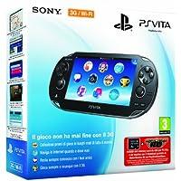 PlayStation Vita (PS Vita) - Console [3G/Wi-Fi] con MotorStorm (via PSN) e Memory Card 4 GB [Bundle]