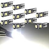 bombilla led coche interior canbus t10 matriculas coche luz indicadora