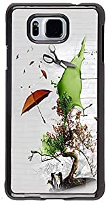 PRINTVISA Cartoon Save Nature Case Cover for Samsung Galaxy Alpha