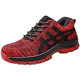 LILICAT Zapatillas de Seguridad para Hombre Zapatos de Trabajo Zapatos de Seguridad Hombre Antideslizante Anti Estático Zapatos de Trabajo Zapatos Seguridad Zapatos de Playa Hombre