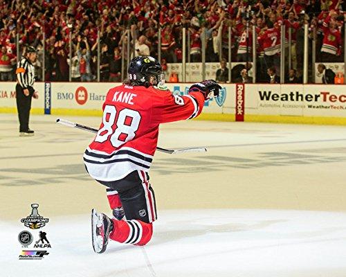 NHL Patrick Kane Chicago Blackhawks Ziel Celebration Spiel 62015Stanley Cup Finals (Größe: 20,3x 25,4cm)