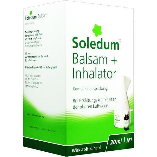 Soledum Balsam + Inhalator, 20 ml