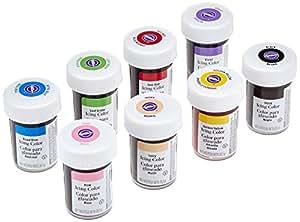 Wilton Icing Color Kit 8 x 28 g, 1er Pack (1 x 224 g)
