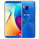 BLUBOO S8 Sim-Free Smartphone, Doppel-Sim, 5,7-Zoll-Full-View-Display Android-Handy, 3 GB RAM + 32 GB ROM - Blau
