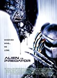 ALIEN VS PREDATOR 4 MOVIE POSTER PRINT APPROX SIZE 12X8 INCHES