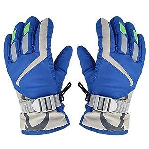OFUN Kinder/Kind Ski Handschuhe, Winter Warm Wasserdicht Winddicht Schnee Snowboard Ski Sport Handschuhe für Sport & Outdoor, Radfahren, Radfahren, Wandern, Skifahren (3-5 Jahre)
